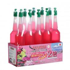 Удобрение Японское FUJIMA для цветущих (активация цветения), розовый, 35 мл