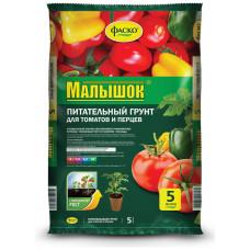 грунт Малышок, питательный  для томатов и перцев  5 л