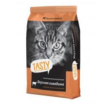 TASTY для Кошек с Говядиной 10кг