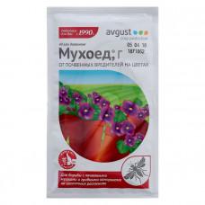 Мухоед 10г, средство от почвенных мушек и луковой мухи