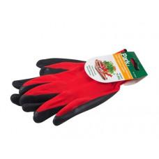 Перчатки красные с серым р-р XL