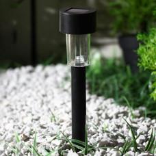 """Фонарь садовый на солнечной батарее """"Цилиндр"""", 31 см, d=4.5 см"""