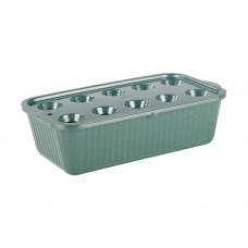 Лоток для выращивания зелёного лука, микс