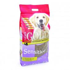 Корм Nero Gold для Чувствительных собак с Индейкой и рисом (Sensitive Turkey 23/13), 12 кг