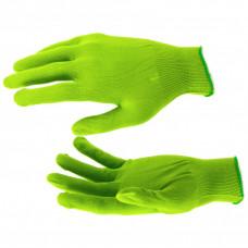 Перчатки Нейлон, 13 класс, цвет изумрудный, L