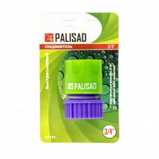 Соединитель пластмассовый, быстросъемный, внутренняя резьба 3/4 Palisad