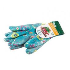 Перчатки садовые Park  р-р 7 S , микс