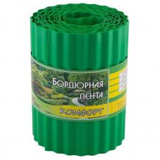 Бордюрная лента комфорт зеленая 9 м х 20 см