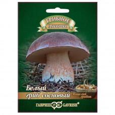 Мицелий Белый гриб Сосновый на зерновом субстрате, 15мл