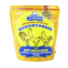 Цеолитовый природный комплекс  с витаминами и минералами для домашней птицы, 600гр
