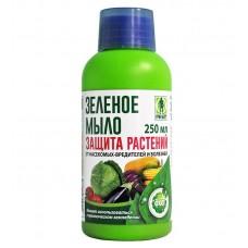 Зеленое мыло в бутылках 250 мл