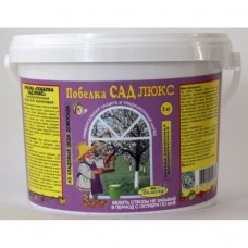 Побелка садовая Сад Люкс (акриловая краска)  3 кг