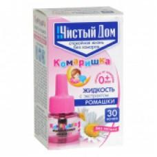 Комаришка, жидкость для фумигатора от комаров для детей без запаха на 30 ночей