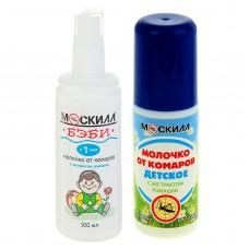 Молочко от комаров Детское Москилл спрей с 1-го года 100 мл