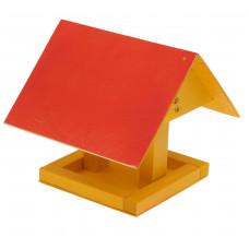Кормушка для птиц «Избушка», 22 × 20 × 18 см, МИКС